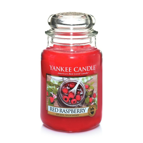 Yankee Candle słoik duży Red Raspberry