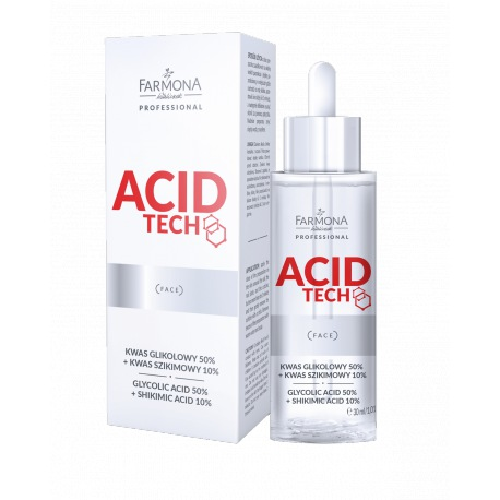 Farmona ACID TECH Kwas glikolowy 50%+kwas szikimowy 10% 30ml