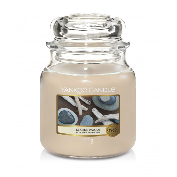 Yankee Candle słoik średni Seaside Woods