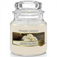 Yankee Candle sloik mały Coconut Rice Cream